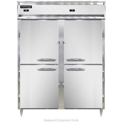 Continental Refrigerator DL2RFE-SS-PT-HD Refrigerator Freezer, Pass-Thru