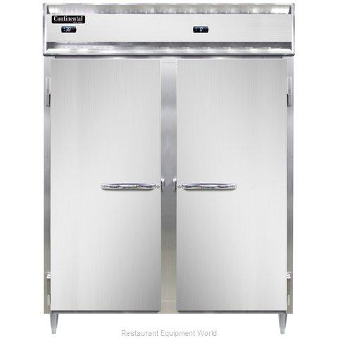 Continental Refrigerator DL2RFE-SS-PT Refrigerator Freezer, Pass-Thru