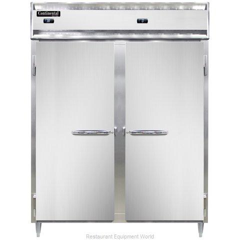 Continental Refrigerator DL2RFE-SS Refrigerator Freezer, Reach-In