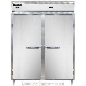 Continental Refrigerator DL2RFE Refrigerator Freezer, Reach-In