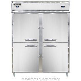 Continental Refrigerator DL2RFES-HD Refrigerator Freezer, Reach-In