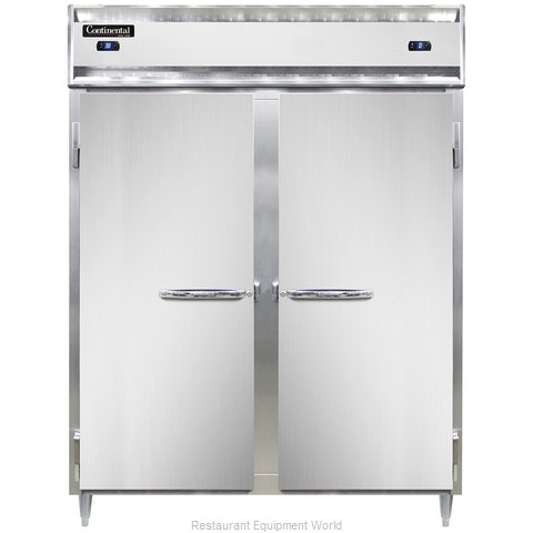 Continental Refrigerator DL2RFES-SA Refrigerator Freezer, Reach-In