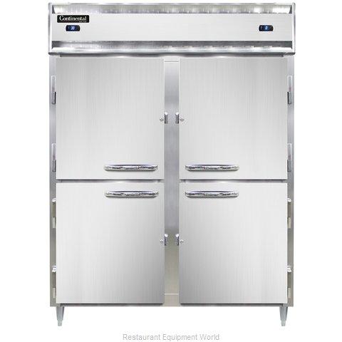 Continental Refrigerator DL2RFES-SS-HD Refrigerator Freezer, Reach-In