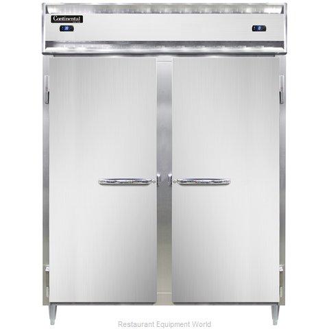 Continental Refrigerator DL2RFES Refrigerator Freezer, Reach-In