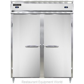 Continental Refrigerator DL2RFES Refrigerator Freezer, Reach-In