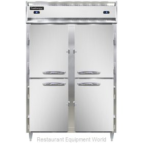 Continental Refrigerator DL2RFS-SA-HD Refrigerator Freezer, Reach-In