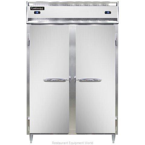 Continental Refrigerator DL2RFS-SA Refrigerator Freezer, Reach-In
