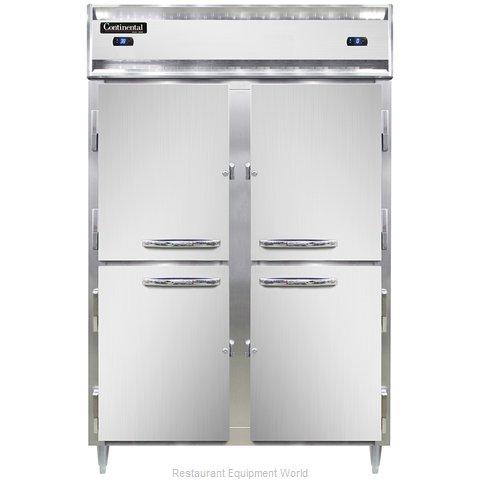 Continental Refrigerator DL2RFS-SS-HD Refrigerator Freezer, Reach-In