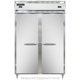 Continental Refrigerator DL2RFS Refrigerator Freezer, Reach-In
