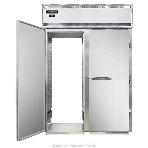 Continental Refrigerator DL2RI-RT-E Refrigerator, Roll-Thru