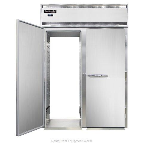 Continental Refrigerator DL2RI-SS-RT-E Refrigerator, Roll-Thru