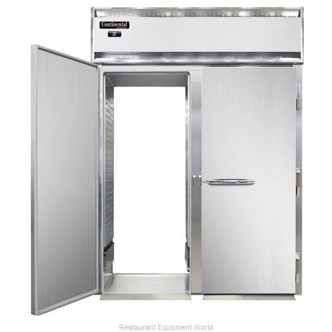 Continental Refrigerator DL2RI-SS-RT Refrigerator, Roll-Thru