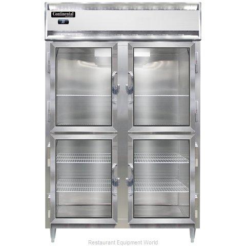 Continental Refrigerator DL2RS-GD-HD Refrigerator, Reach-In
