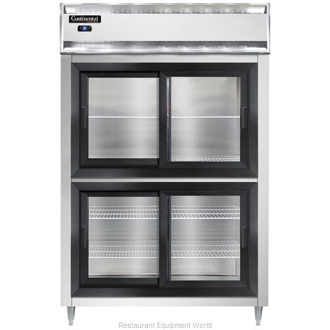 Continental Refrigerator DL2RS-SGD-HD Refrigerator, Reach-In