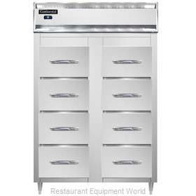 Continental Refrigerator DL2RS-SS-F Refrigerator, Fish / Poultry File