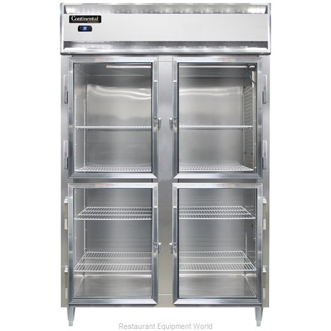 Continental Refrigerator DL2RS-SS-GD-HD Refrigerator, Reach-In