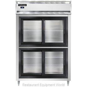 Continental Refrigerator DL2RS-SS-SGD-HD Refrigerator, Reach-In