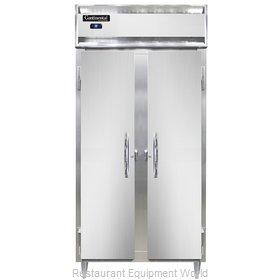 Continental Refrigerator DL2RSE-SA Refrigerator, Reach-In