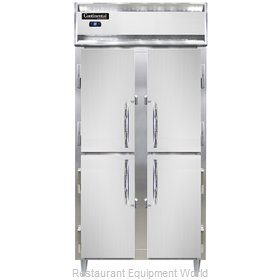 Continental Refrigerator DL2RSE-SS-HD Refrigerator, Reach-In
