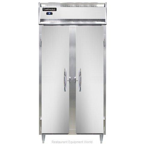 Continental Refrigerator DL2RSE-SS Refrigerator, Reach-In