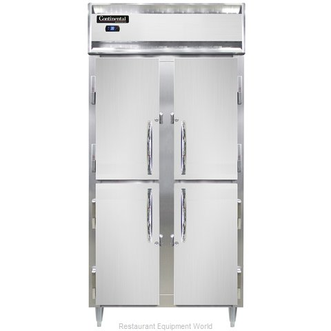 Continental Refrigerator DL2RSES-SS-HD Refrigerator, Reach-In (Magnified)