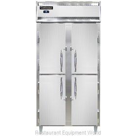 Continental Refrigerator DL2RSES-SS-HD Refrigerator, Reach-In