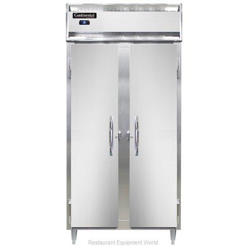 Continental Refrigerator DL2RSES-SS Refrigerator, Reach-In