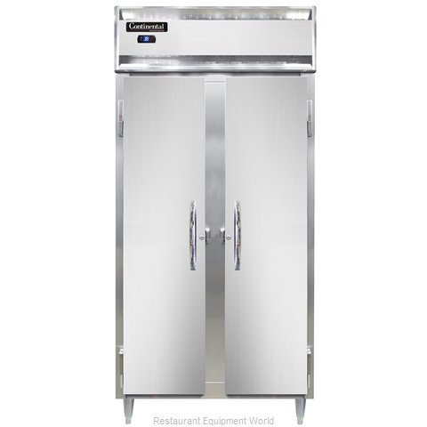 Continental Refrigerator DL2RSES Refrigerator, Reach-In
