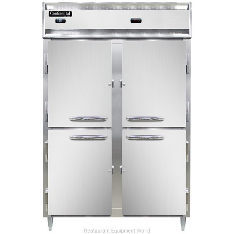 Continental Refrigerator DL2RW-HD Refrigerated/Heated Cabinet, Dual Temp (Magnified)
