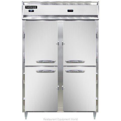 Continental Refrigerator DL2RW-PT-HD Refrigerated/Heated Pass-Thru, Dual Temp