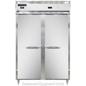 Continental Refrigerator DL2RW-PT Refrigerated/Heated Pass-Thru, Dual Temp