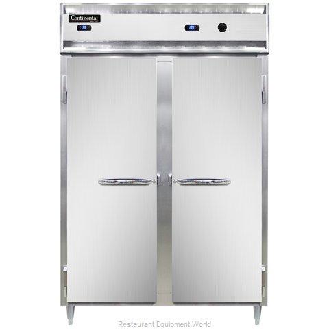 Continental Refrigerator DL2RW-SA-PT Refrigerated/Heated Pass-Thru, Dual Temp
