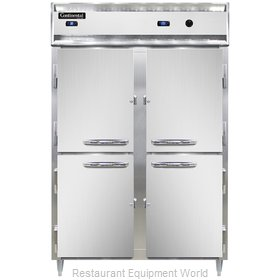 Continental Refrigerator DL2RW-SS-HD Refrigerated/Heated Cabinet, Dual Temp