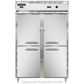 Continental Refrigerator DL2RW-SS-HD Refrigerated/Heated Cabinet, Dual Temp