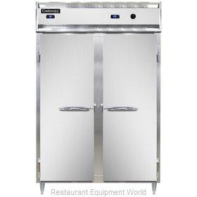 Continental Refrigerator DL2RW-SS-PT Refrigerated/Heated Pass-Thru, Dual Temp