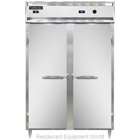 Continental Refrigerator DL2RW-SS Refrigerated/Heated Cabinet, Dual Temp