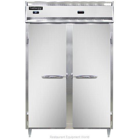 Continental Refrigerator DL2RW Refrigerated/Heated Cabinet, Dual Temp