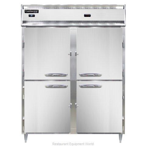 Continental Refrigerator DL2RWE-PT-HD Refrigerated/Heated Pass-Thru, Dual Temp
