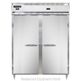 Continental Refrigerator DL2RWE-PT Refrigerated/Heated Pass-Thru, Dual Temp