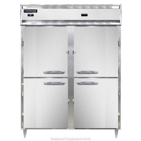 Continental Refrigerator DL2RWE-SA-PT-HD Refrigerated/Heated Pass-Thru, Dual Tem