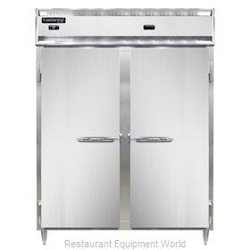 Continental Refrigerator DL2RWE-SA-PT Refrigerated/Heated Pass-Thru, Dual Temp