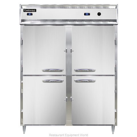 Continental Refrigerator DL2RWE-SS-HD Refrigerated/Heated Cabinet, Dual Temp