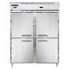 Continental Refrigerator DL2RWE-SS-PT-HD Refrigerated/Heated Pass-Thru, Dual Tem