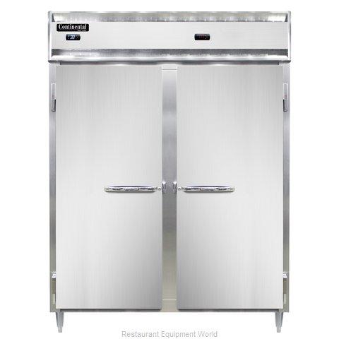 Continental Refrigerator DL2RWE-SS-PT Refrigerated/Heated Pass-Thru, Dual Temp