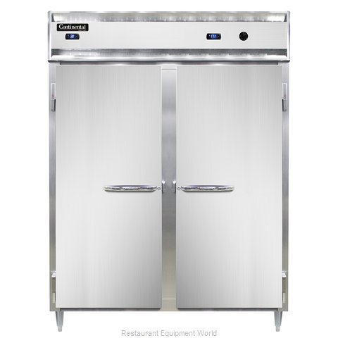 Continental Refrigerator DL2RWE-SS Refrigerated/Heated Cabinet, Dual Temp