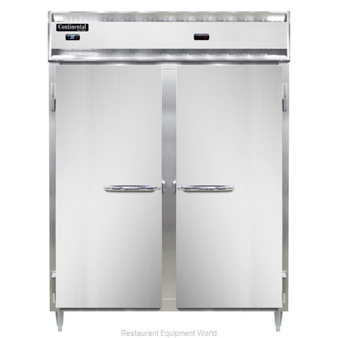 Continental Refrigerator DL2RWE Refrigerated/Heated Cabinet, Dual Temp