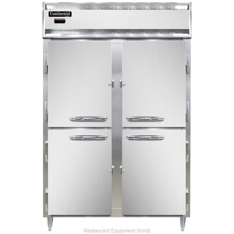 Continental Refrigerator DL2W-PT-HD Heated Cabinet, Pass-Thru