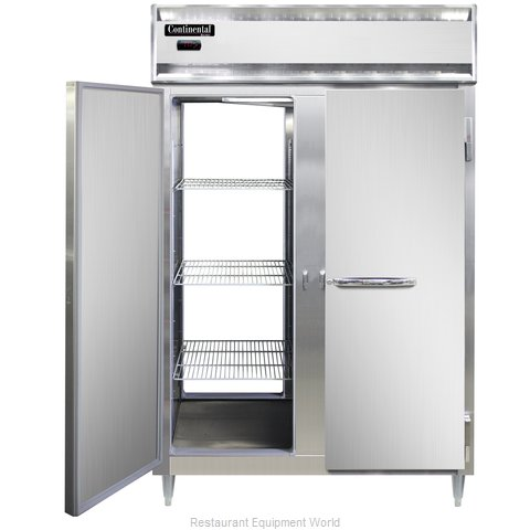 Continental Refrigerator DL2W-PT Heated Cabinet, Pass-Thru
