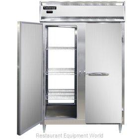 Continental Refrigerator DL2W-SS-PT Heated Cabinet, Pass-Thru
