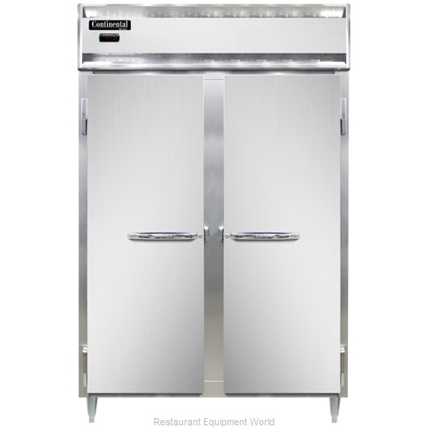 Continental Refrigerator DL2W Heated Cabinet, Reach-In